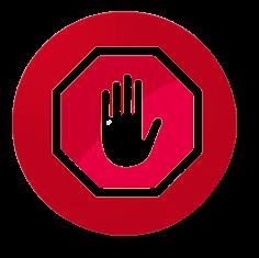 Aplicación de Tarjeta STOP.